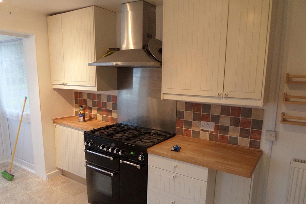 Cullompton, Devon – Escape of water in Kitchen